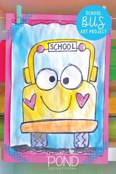 School Bus Directed Drawing School Bus Directed Drawing and art project & perfect for back to school & it& FREE! p School Bus Directed Drawing School Bus Directed Drawing and art project perfect for back to school it 39 s FREE p Kindergarten Art Projects, Classroom Art Projects, School Art Projects, Art Classroom, School Ideas, Kindergarten Activities, School Bus Art, Back To School Art, Back To School Crafts For Kids