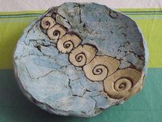 Deko-Objekte - XXL Schale~Handarbeit~Keramik~Unikat~Deko-Teller~ - ein…