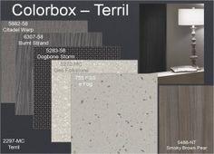 Design Inspiration: Colorbox Terril #interiordesign