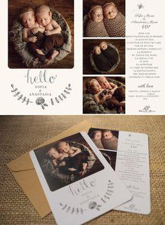 Invitatii de botez Daniela Sterea Anastasia, Polaroid Film, Cards, Maps, Playing Cards