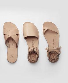 Matin — Alvaro Gonzalez, nude leather sandals