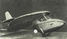 Sukhanov Diskoplan-1 (1950) - experimental glider with a disc wing