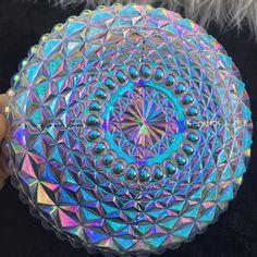 Sacred shapes Aura Glass dish
