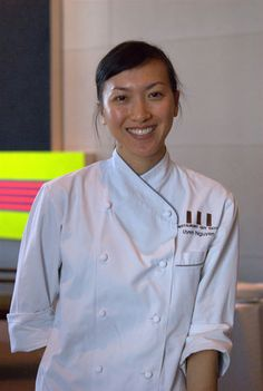 Pastry Chef Uyen Nguyen of Guy Savoy .