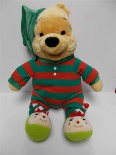 Disney Winnie The Pooh Plush In Pajamas #Disney