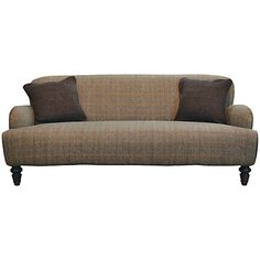 Buy Harris Tweed for John Lewis Lewis Large Sofa, Bracken/Tan Online at johnlewis.com