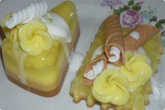 Мастер-класс Мыловарение МК Ананасовые пирожные из мыла Мыло фото 1