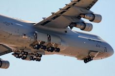 C-5 Galaxy View From Below