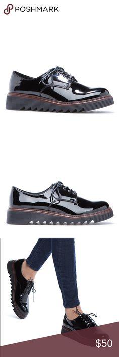 Black Dress Shoes Faux leather dress shoes ShoeDazzle Shoes Flats & Loafers
