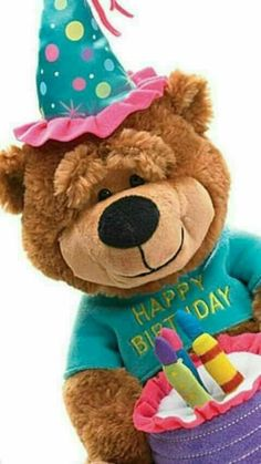 Happy Birthday Wishes Messages, Birthday Wishes And Images, Happy Birthday Celebration, Happy Anniversary Wishes, Happy Birthday Flower, Happy Birthday Beautiful, Happy Birthday Quotes, Happy Birthday Greetings, Valentines Day Teddy Bear