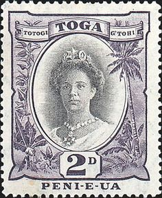Why I collect stamps reason #6: Fascinating people are depicted on stamps, such as Queen Salote of Tonga, who became queen when she was just 18 years old and led her country and her people with dignity and honor.