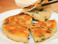 台湾-Taiwan-葱油饼Scallion Pancakes.