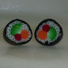 Bridesmaid - Maki Roll Earrings