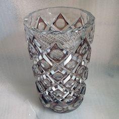 Rarissime GRAND Vase Val Saint-Lamber Art Deco modèle Carlos état parfait !