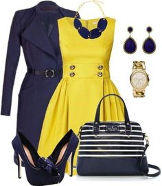 85 Fashionable Work Outfit Ideas for Fall Winter 2018 Mode Outfits, Office Outfits, Office Wear, Stylish Outfits, Professional Attire, Winter Outfits For Work, Outfit Winter, Mellow Yellow, Work Attire
