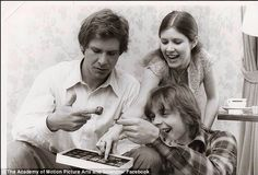 Carrie Fisher, Mark Hamill & Harrison Ford
