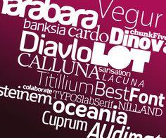 Fonty klasyczne Neon Signs