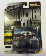 Johnny Lightning 1:64 Street Freaks Blacked Out 2000 Chevy Corvette C5 VER B