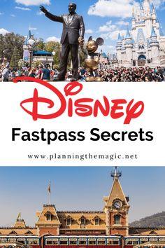 Disney Fastpass Secrets - Planning The Magic Disney Resort Hotels, Walt Disney World Vacations, Disney Parks, Disney Travel, Disney Wonder Cruise, Disney Cruise Line, Disney Vacation Planning, Disney World Planning, Disney World Tips And Tricks
