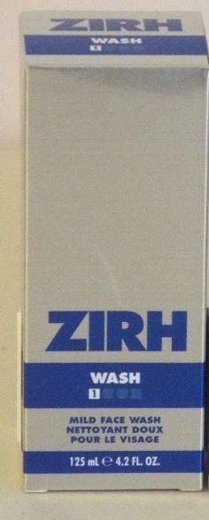 Zirh Mild Face Wash 4.2 Fluid Ounces #Zirh