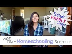 Our daily homeschooling schedule for my large family grade grade grade grade Kindergarten and 2 busy toddlers ages 1 and 3 StarsofJ. Toddler Age, Grade 3, 5th Grades, Schedule, Kindergarten, Homeschooling, Toddlers, Blog, Youtube