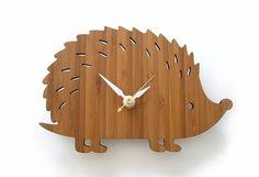 BabyZone: 11 Woodland Nursery Ideas   Hedgehog Clock