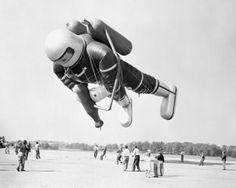 Macy's Thanksgiving Day Parade Spaceman Balloon, 1953