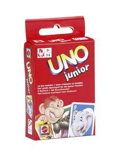 Met UNO Junior bleef je alle UNO-plezier zoals bij de klassieke versie, maar dan met vereenvoudigde spelregels.