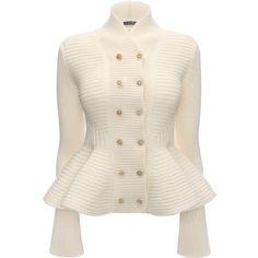 Alexander McQueen Shawl Neck Jacket (3 825 LTL) ❤ liked on Polyvore