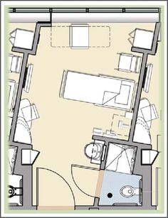 Key considerations in patient room design, part 2: The same-handed room