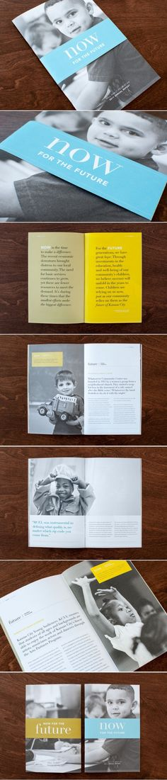 Hall Family Foundation Annual Report | Art Direction, Copywriting, Design | Design Ranch