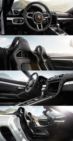 Two seats, high performance, and no room for any distractions. With the new Boxster Spyder, you can feel unfiltered driving enjoyment on any tarmac. *Combined fuel consumption in accordance with EU emission: 230 g/km Boxster Spyder, Porsche Boxster, Porsche 911 Turbo, Monte Carlo, Le Mans, Dream Cars, My Dream Car, Peugeot, Porsche Models