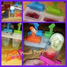Fruit popscicles