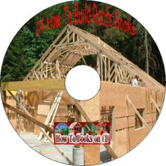 CD How To Build Trusses & Frame Roofs 24 Old Books