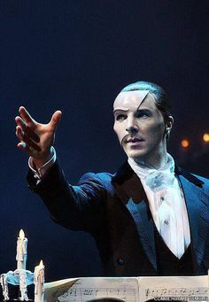 Phantom of the Opera with Benedict Cumberbatch as the Phantom. whaaaa?! Tickets please!!