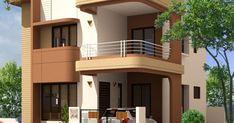 Home Design Plans, Plan Design, 3d Design, Exterior Design, Interior And Exterior, Building Design, Building A House, Plumbing Drawing, Exterior Solutions