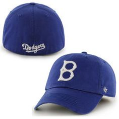 39d64419b40 Brooklyn Dodgers  47 Brand Franchise Cooperstown Collection Fitted Hat -  Royal Blue