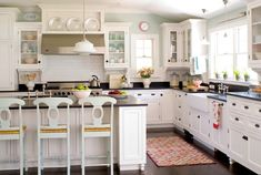 white kitchen - another angle