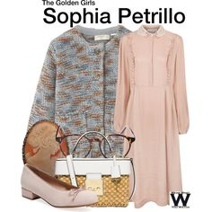 Inspired by Estelle Getty as Sophia Petrillo on The Golden Girls.