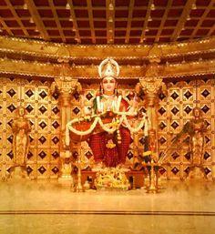 Sharada idol for Pooja during Navaratri or Dussera