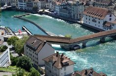 View from the clock tower, Luzern