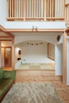 Small Rooms, Small Apartments, Vinyl Garage Flooring, Muji Home, Small Apartment Interior, Japanese Interior Design, Japanese House, Tiny House Design, Furniture Design