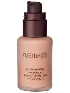Laura Mercier Oil-Free Foundation - InStyle Best Beauty Buys 2013 Winner