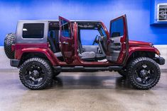 Used 2010 Jeep Wrangler Unlimited Sahara with miles at Northwest Motorsport in Puyallup, WA. Buy a used Burgundy Jeep Wrangler. 2010 Jeep Wrangler Unlimited, Jeep Wrangler Rubicon, Jeep Suv, Jeep Cars, My Dream Car, Dream Cars, Jeep Sahara, Suv For Sale, Chevy Girl
