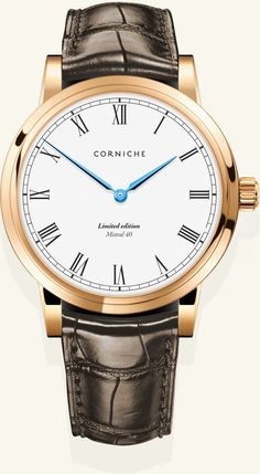 My favourite. corniche mistral 40   gold/white edition
