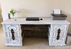 Dresser to Desk Transformation | Hometalk