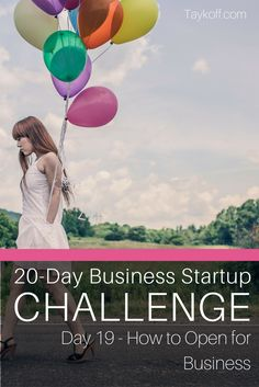 Day 19 in the Business Startup Challenge - open for business. Learn the vital steps to officially opening your doors and. Marketing Program, Online Marketing, Social Media Marketing, Start Up Business, Starting A Business, Business Ideas, Social Media Content, Social Media Tips, Business Entrepreneur