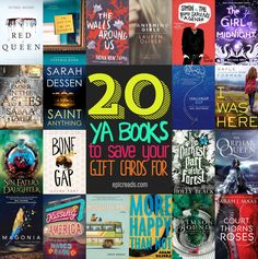 20 Books You Should Save Your Holiday Gift Cards For | Blog | Epic Reads