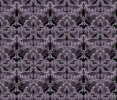 Victorian Bats fabric by cryptovolans on Spoonflower - custom fabric