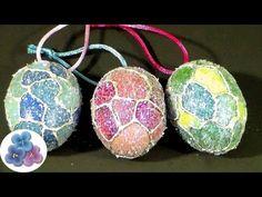Navidad: Como hacer Esferas Navideñas Adornos Navideños Manualidades Navidad Pintura Facil - YouTube